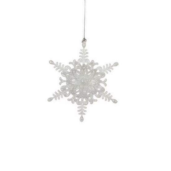 christmas house Christmas House Украшение декоративное Звезда шестиугольная, белая (1035983)