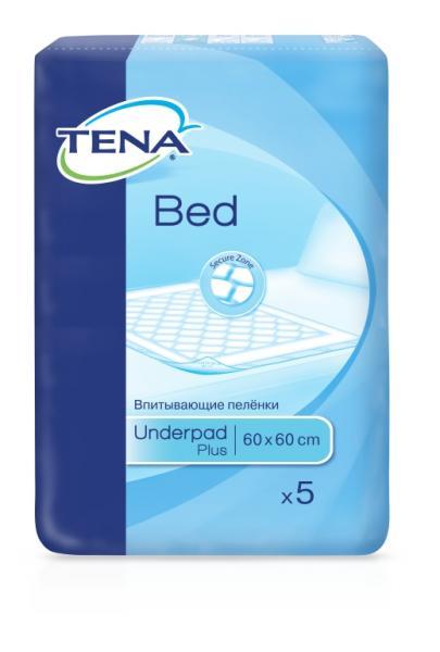 tena TENA Bed Plus 60x60 см 5 шт (7322540801910)