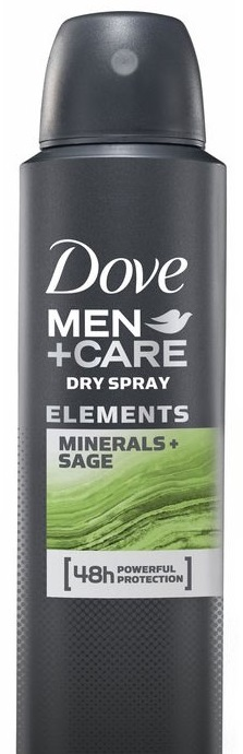 dove DOVE MEN Elements Minerals+Sage 150 мл (8710908553820)