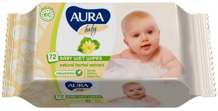aura AURA Baby с клапаном 72шт(4751023292403)