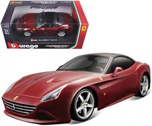 bburago Bburago Ferrari California T, бордовый (18-26002-3)
