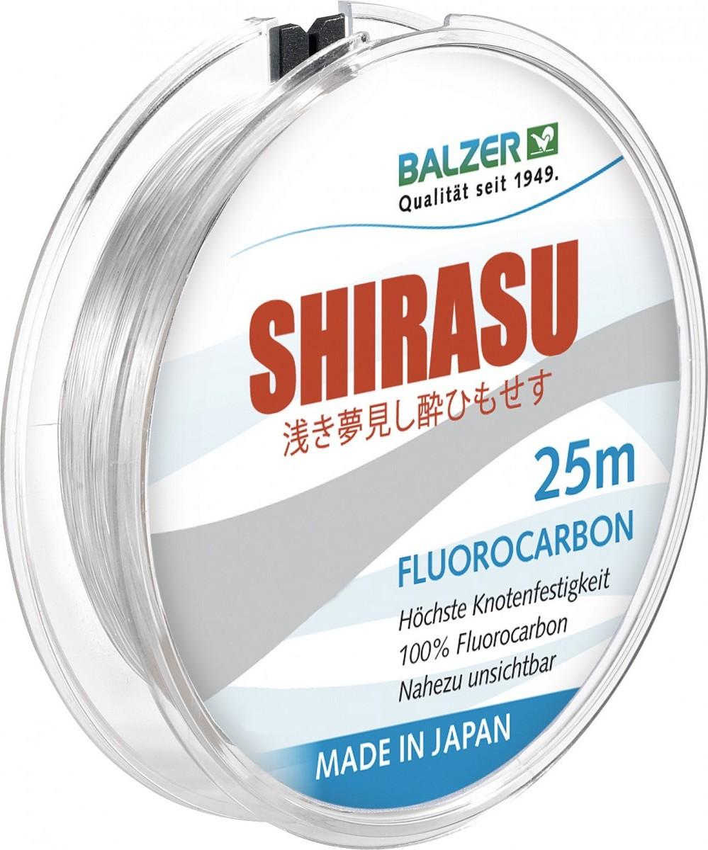 balzer Balzer Shirasu Fluorocarbon 0.16мм. 25м. Made in Japan