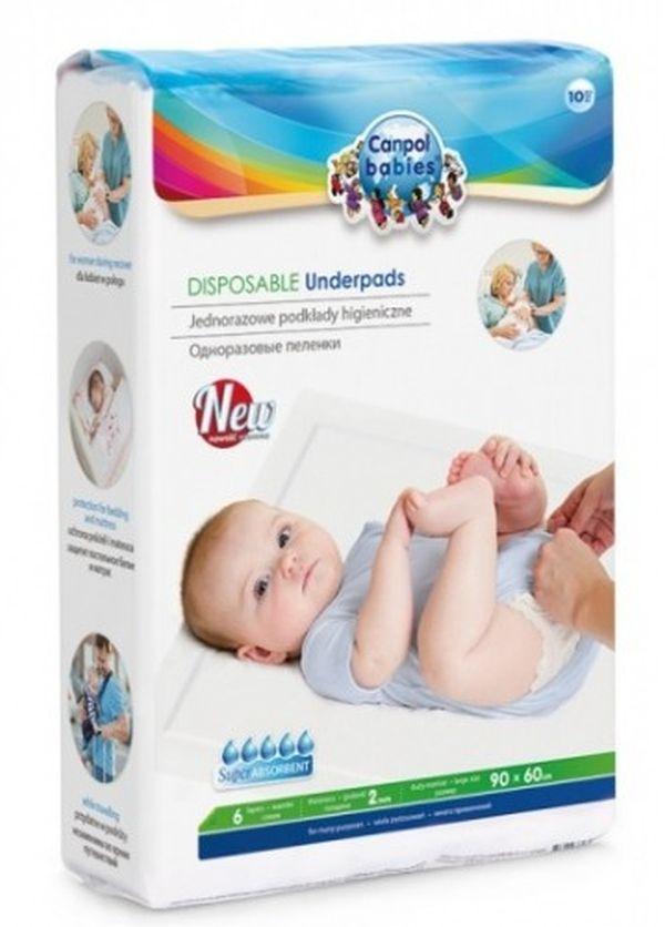 canpol babies Canpol Babies Одноразовые пеленки гигиенические 10 шт. (78/002)