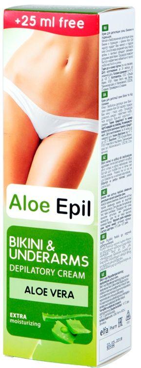 aloe epil Aloe Epil Крем зоны бикини и подмышек 125мл (8588006035469)