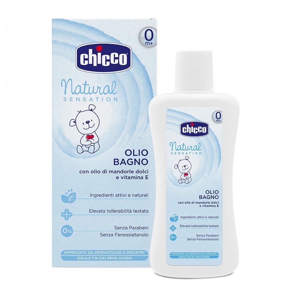chicco CHICCO Natural Sensation для ванны 200 мл (07451.10)