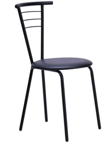 art metal furniture (amf) AMF Бонус черный Кожзам черный (50256)