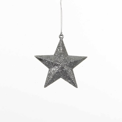 christmas house Christmas House Украшение декоративное Звезда объемная, серая (1035986)