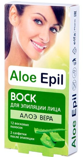 aloe epil Aloe Epil Воск Для эпиляции лица 12+2 (8588006035490)