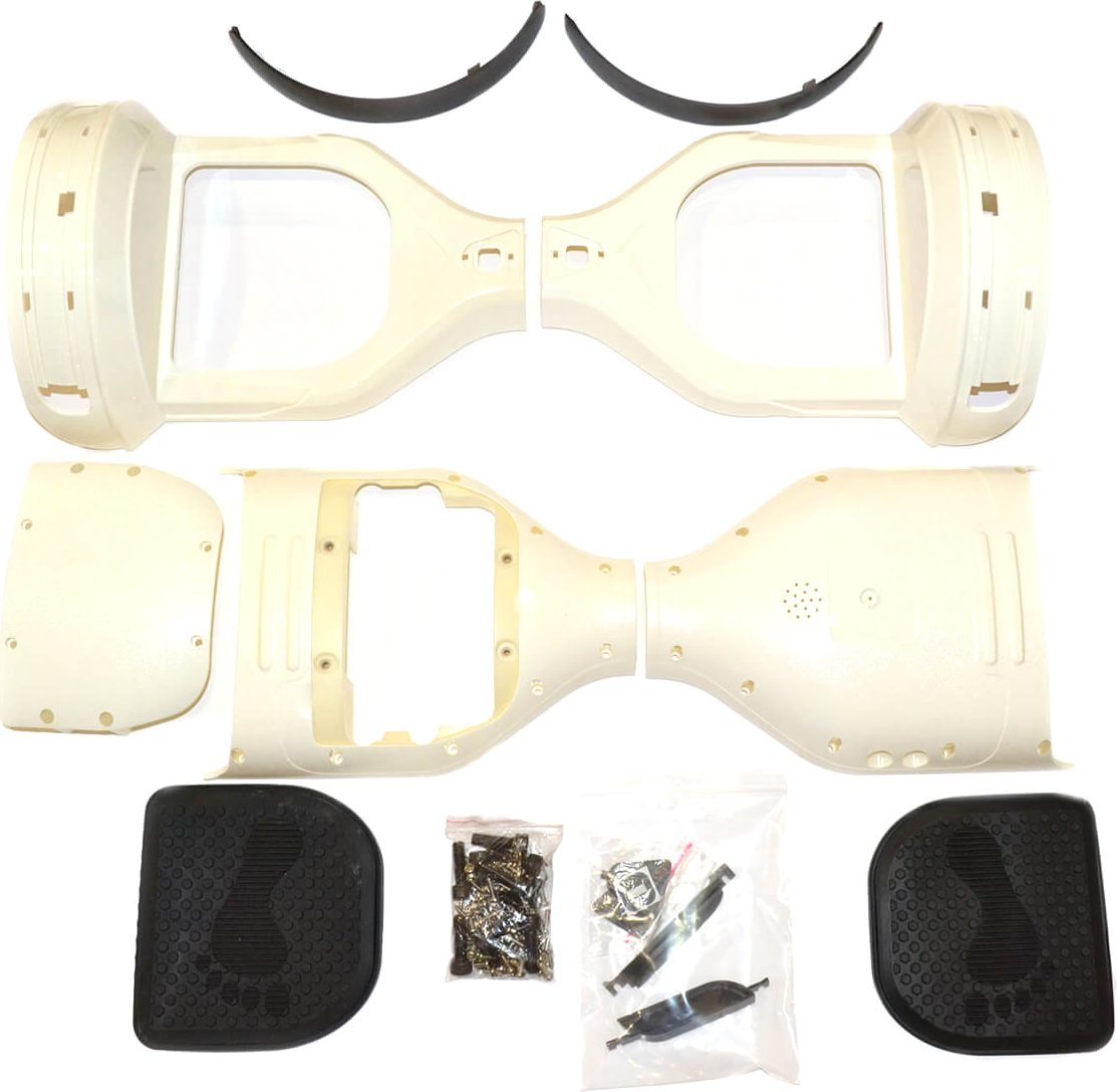 just JUST Step&Go 8 White (shells,light covers,screws,foot pads) (HS-8WHT)