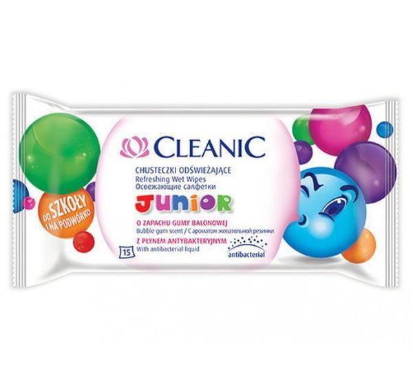 cleanic CLEANIC Junior детские 15 шт.(5900095018872)