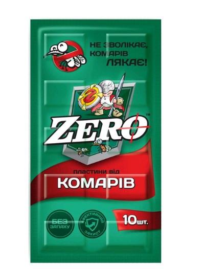 zero ZERO Пластины 10 шт (4820159847525)
