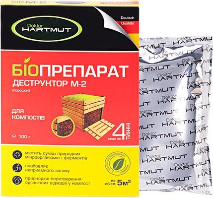 doktor hartmut Doktor Hartmut биопрепарат-деструктор М-2 (4260349572019)