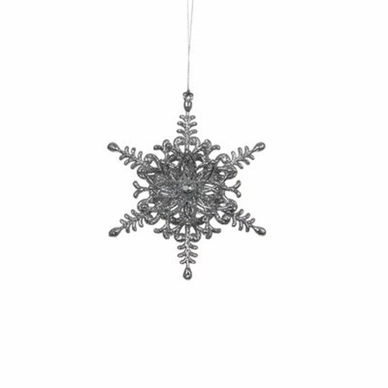 christmas house Christmas House Украшение декоративное Звезда шестиугольная, серая (1035982)