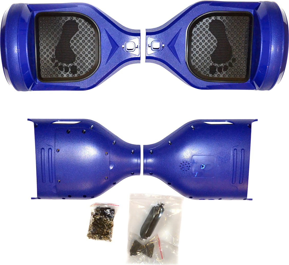 just JUST Step&Go 6,5 Blue (shells,light covers,screws,foot pads) (HS-65BL)