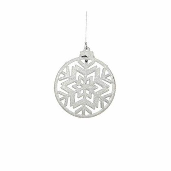 christmas house Christmas House Украшение декоративное Снежинка симметричная, белая (1035933)
